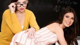Sovereign Syre and Gianna Gem Mother's Teacher's Pet
