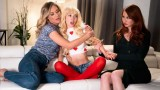Kendra James, Mona Wales and Kenzie Reeves My New Mommy And Old Mommy
