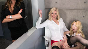 Kenzie Reeves, Dava Foxx and Serene Siren My Mom And Her Boss
